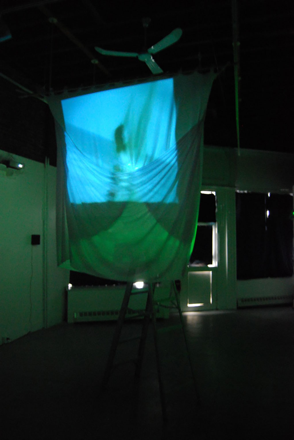 a projection of under water